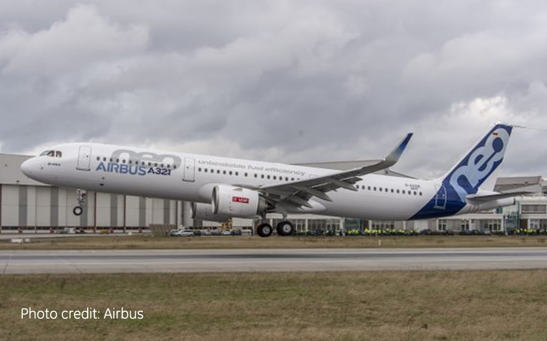 First Flight for LEAP-1A powered Airbus A321neo