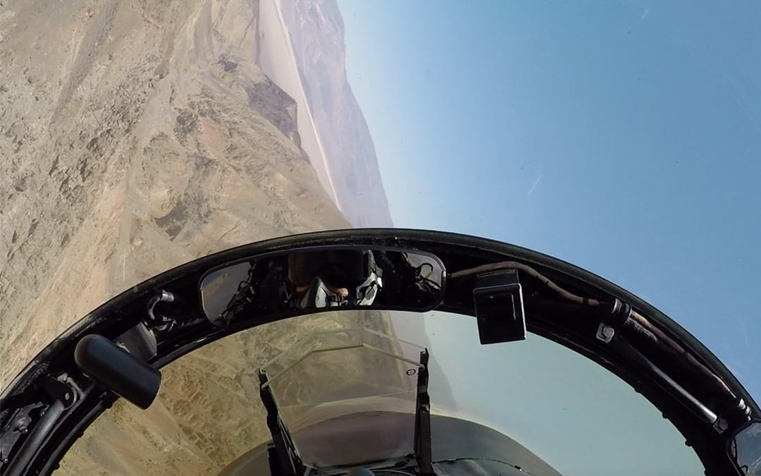 The pilot's perspective: Soaring at 6Gs with the US Navy's Flying Eagles