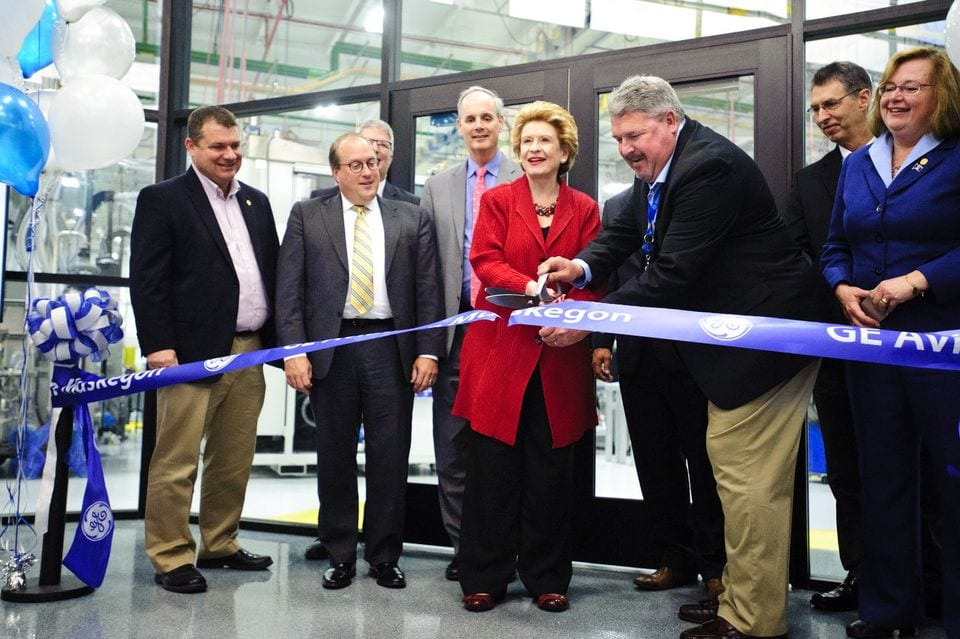 A Stroke of Brilliance – GE Aviation opens new 35,000-square-foot brilliant factory in Muskegon, Michigan