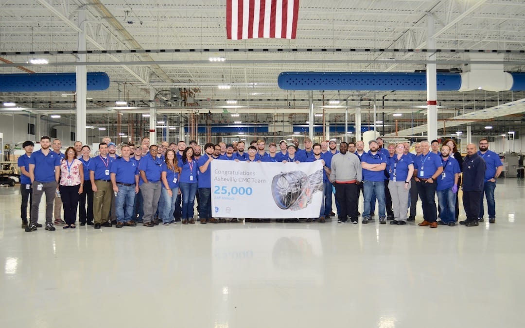 GE Aviation Asheville marks another first in flight for North Carolina
