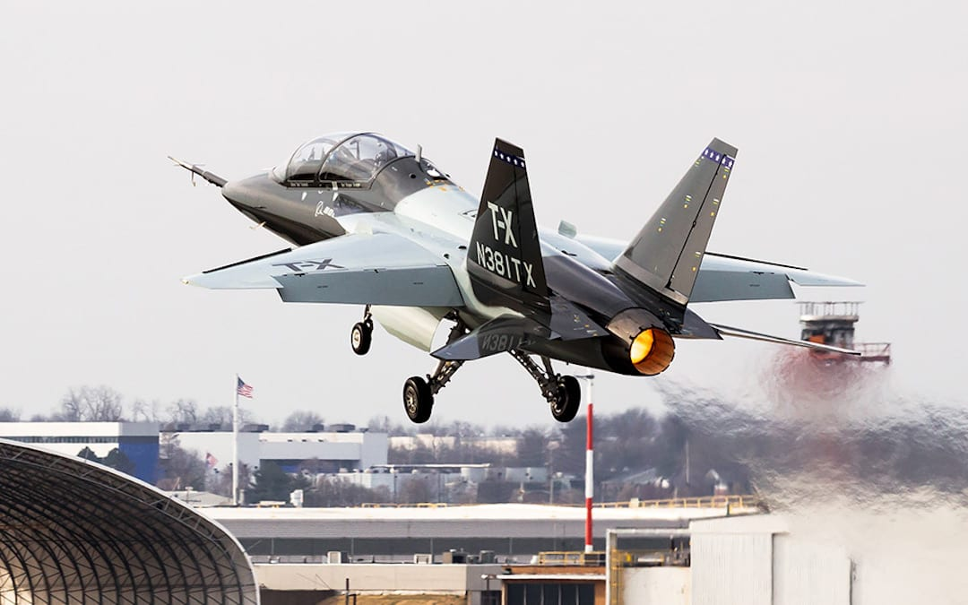Float Like A Butterfly, Sting Like A Hornet: The US Air Force Picks the T-X For A New Trainer Jet