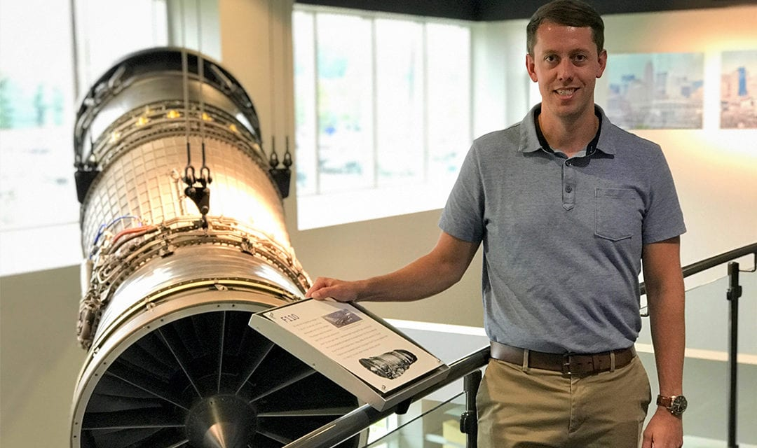 Love Engineering? So Does Air Force Veteran and GE Aviation Engineer Mike Chenery