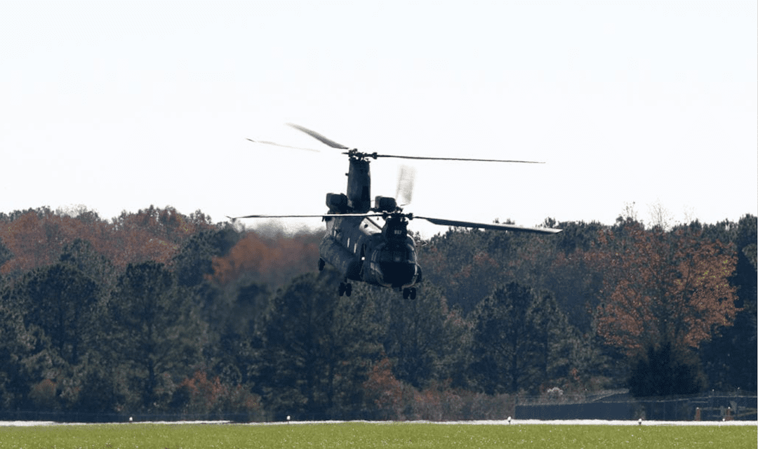 Chinook T408 Engine Demo Continues